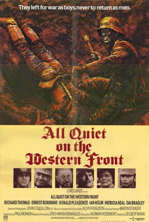 All Quiet on the Western Front War Movie
