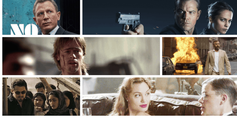 Best Spy Movies Of all Time