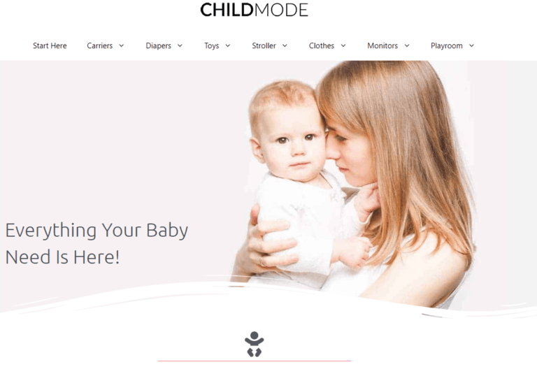 Child Mode - The best parent and child style blog