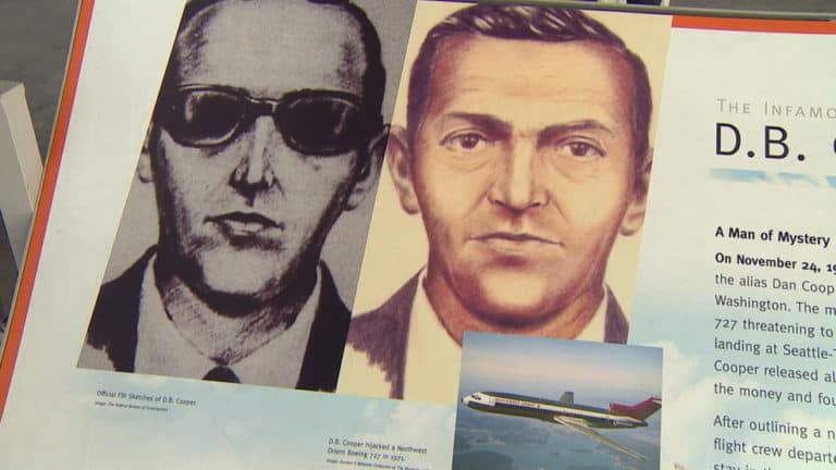 D.B. Cooper - Most Famous Heists In History