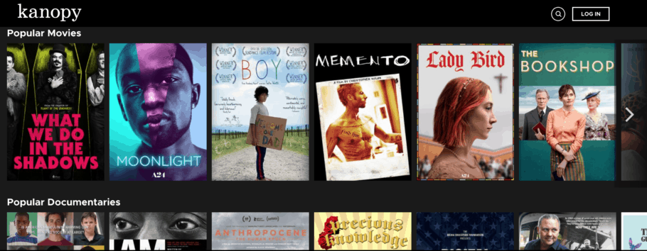 Watch movies online for free - Kanopy