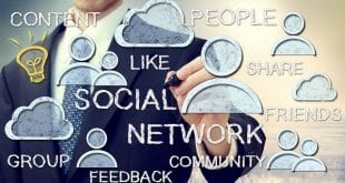 market your business using social media