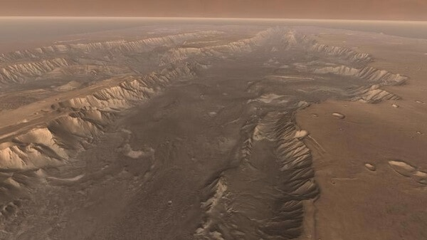 Mars - The Largest Canyon