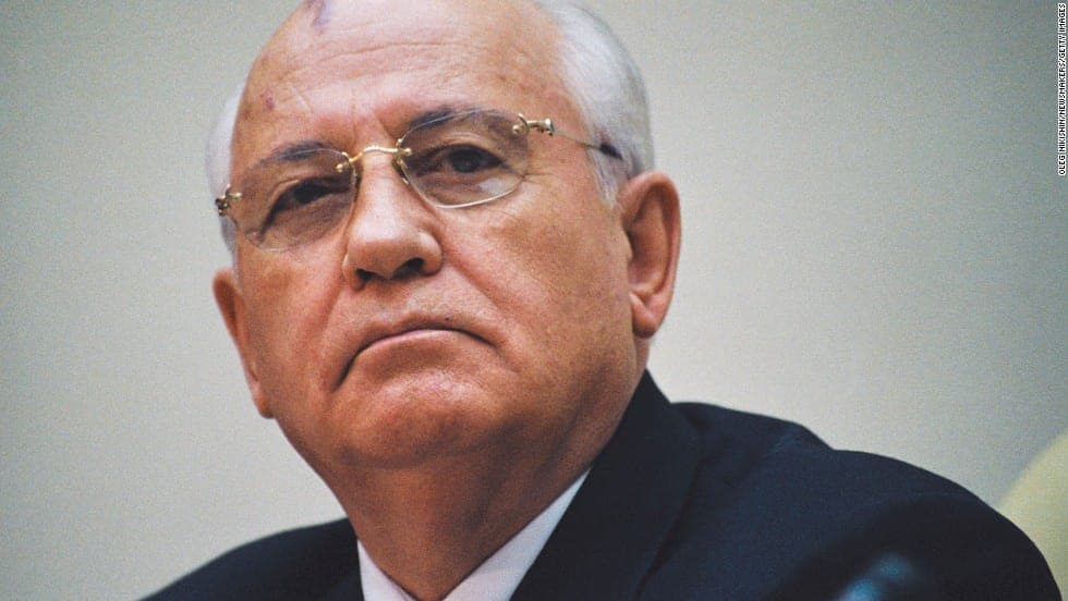 Mikhail Gorbachev - Top Famous Politicians