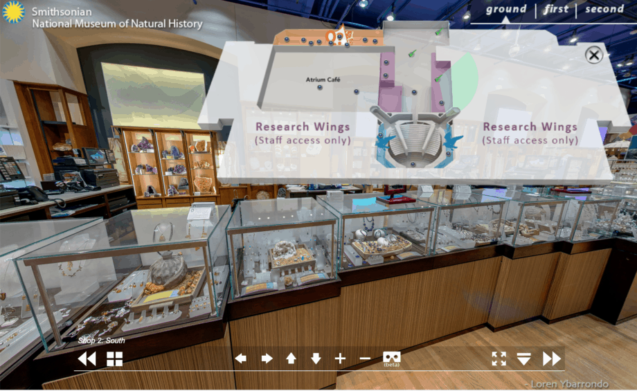 National Museum of Natural History Virtual Tour