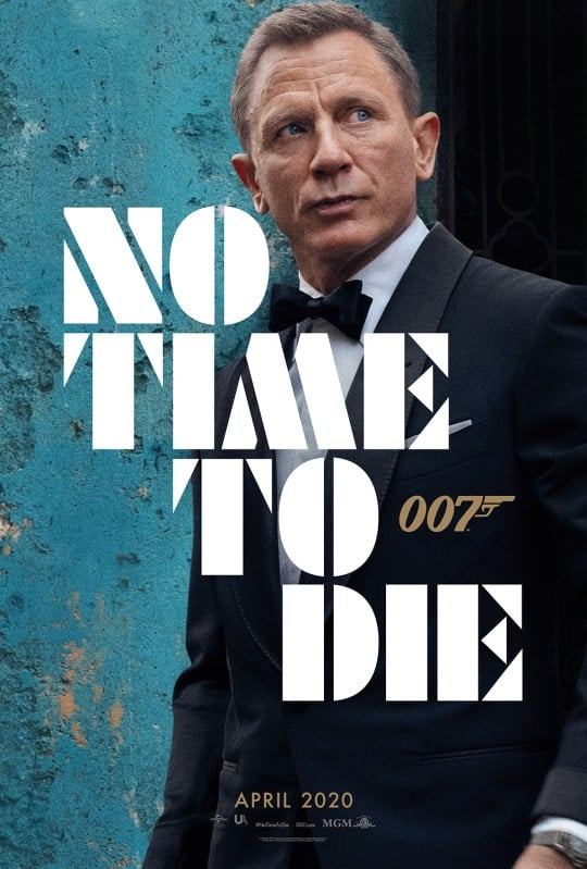 James Bond - No time to Die Poster