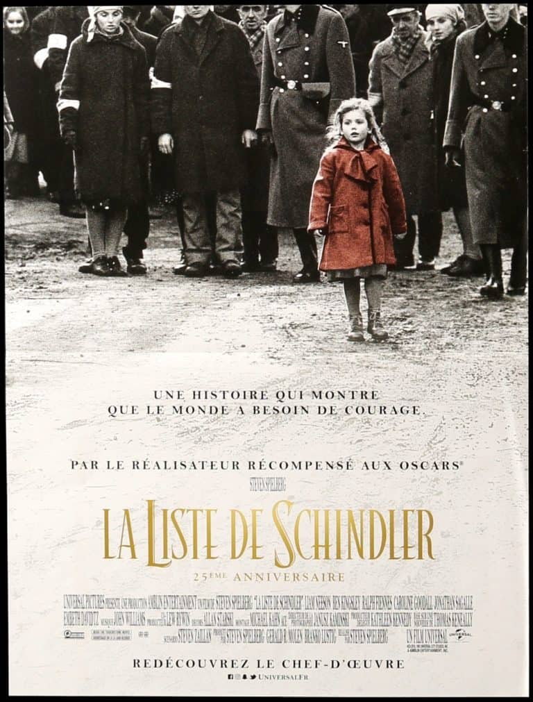 Schindler's List - One of the best movies about war