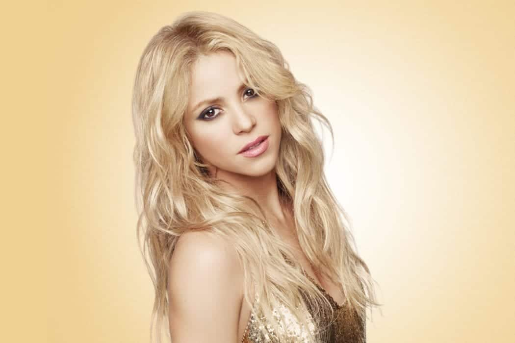 Shakira - colombian singer, songwriter, dancer