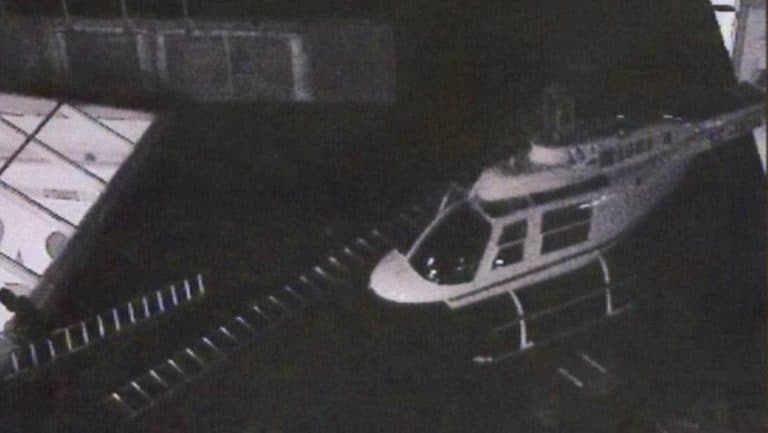 Stockholm helicopter robbery