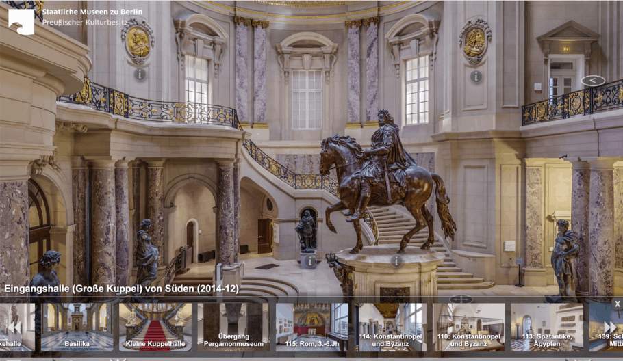 The Bode Museum, Berlin Virtual Tour