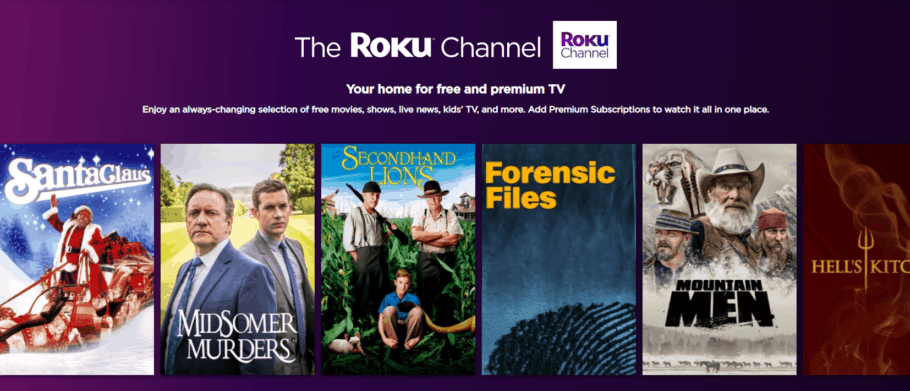 The ROKU Channel - Watching movies online