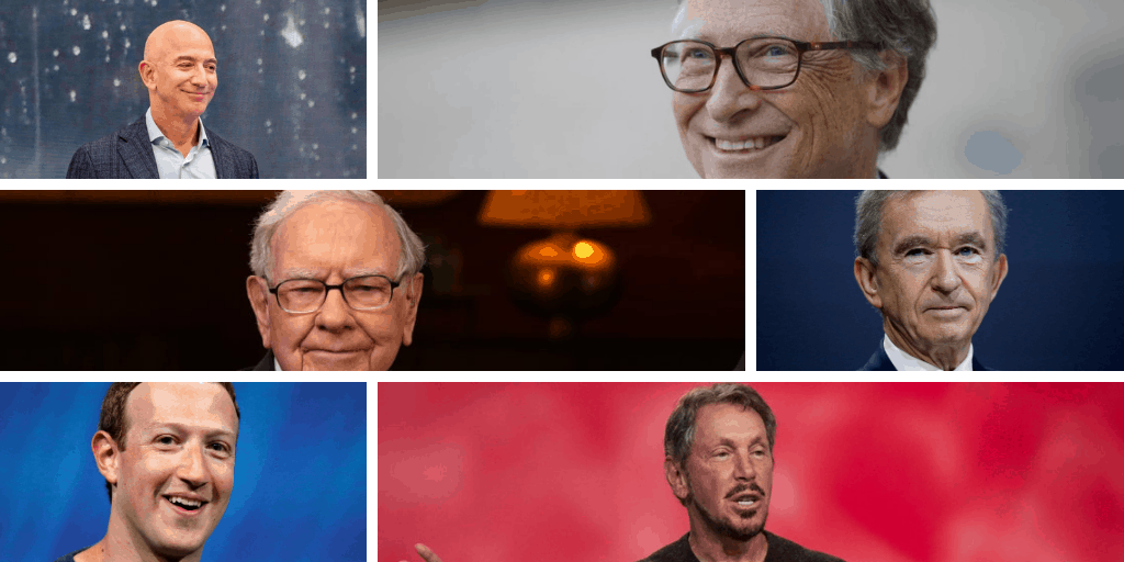 Top 10 Richest People in The World [2020]
