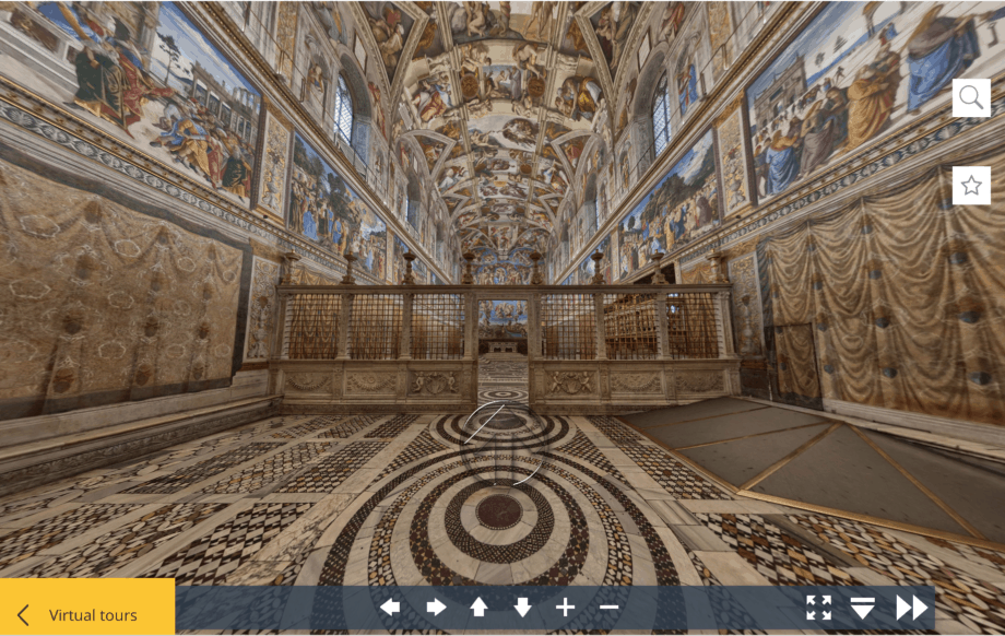 Vatican City Museums and Sistine Chapel Virtual Tour