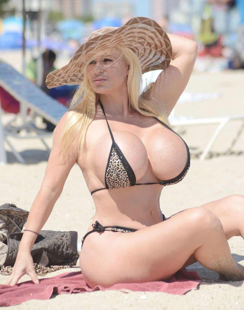 Women With the Biggest Boobs in the World - Lacey Wildd