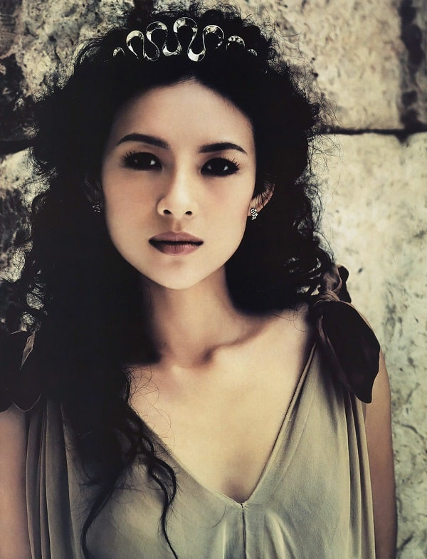 Top 10 Most Beautiful Chinese Women - Zhang Ziyi
