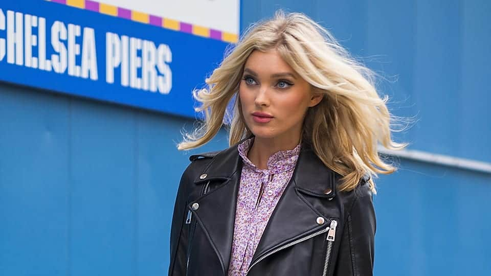 Elsa Hosk - Swedish fashion model who has worked for leading brands like Dior, Dolce & Gabbana, Ungaro