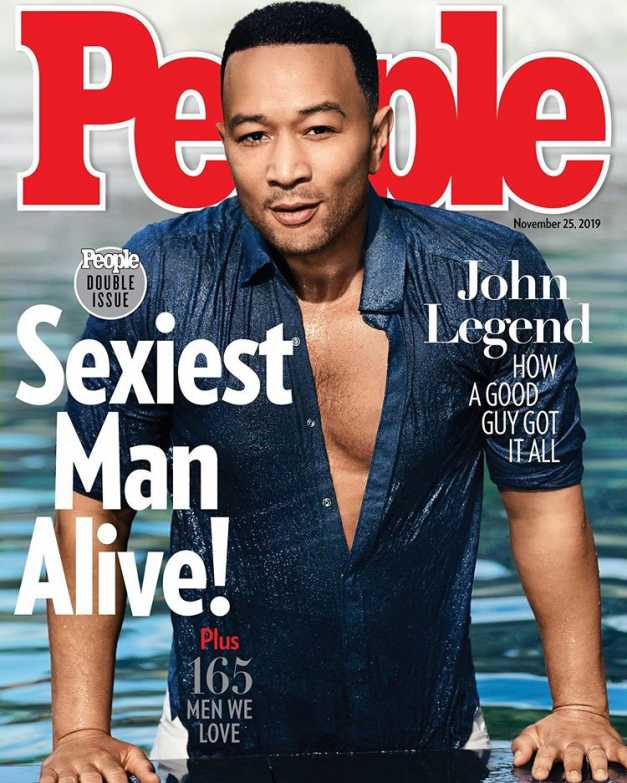 John Legend of the cover of People Magazine 2019