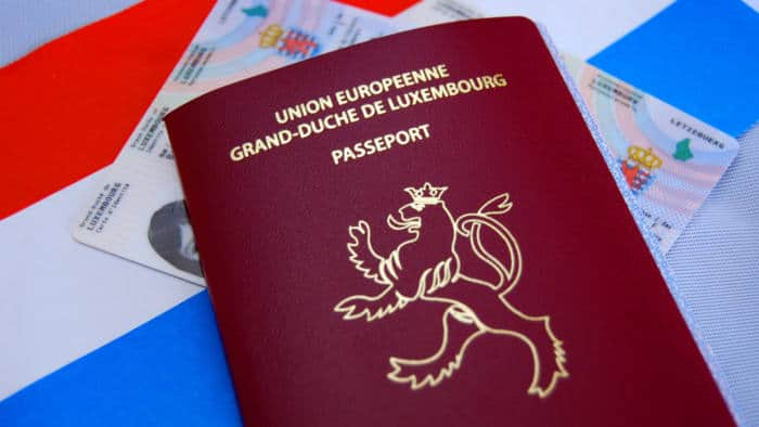 Luxembourg passport - #5th Most powerful passports in 2020