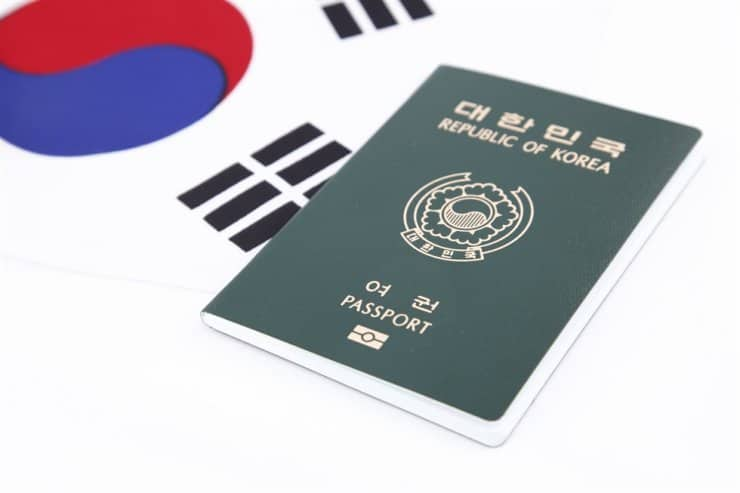 South Korea passport - #3rd Most powerful passports in 2020