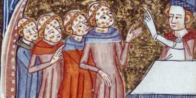 The Justinian plague - Top Pandemic of The World